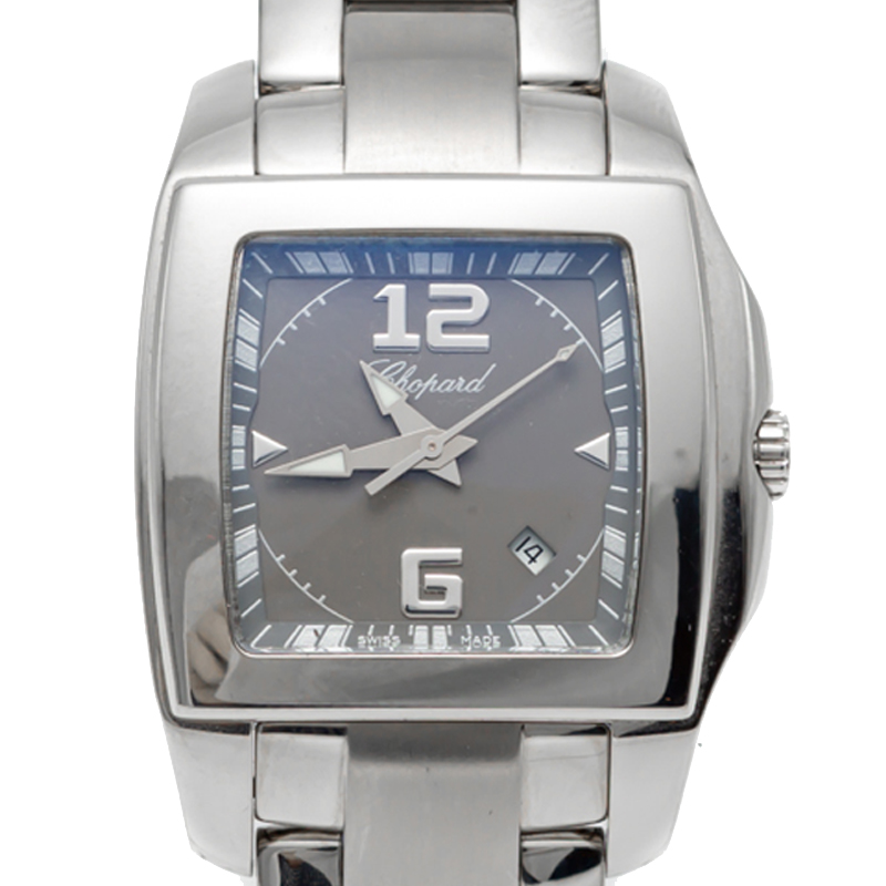 Chopard Grey Dial Two O One Stainless Steel Women'S Watch