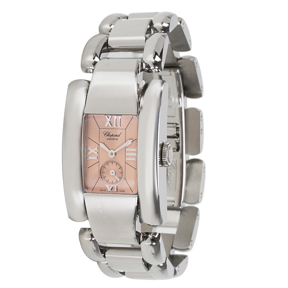 Chopard Salmon Stainless Steel La Strada 41/8380 Women's Wristwatch 23MM