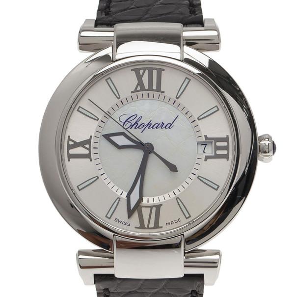 303d38844 إشتري ساعة يد نسائية شوبارد إمبريال عرق لؤلؤ 36 مم 6870 بأفضل ...