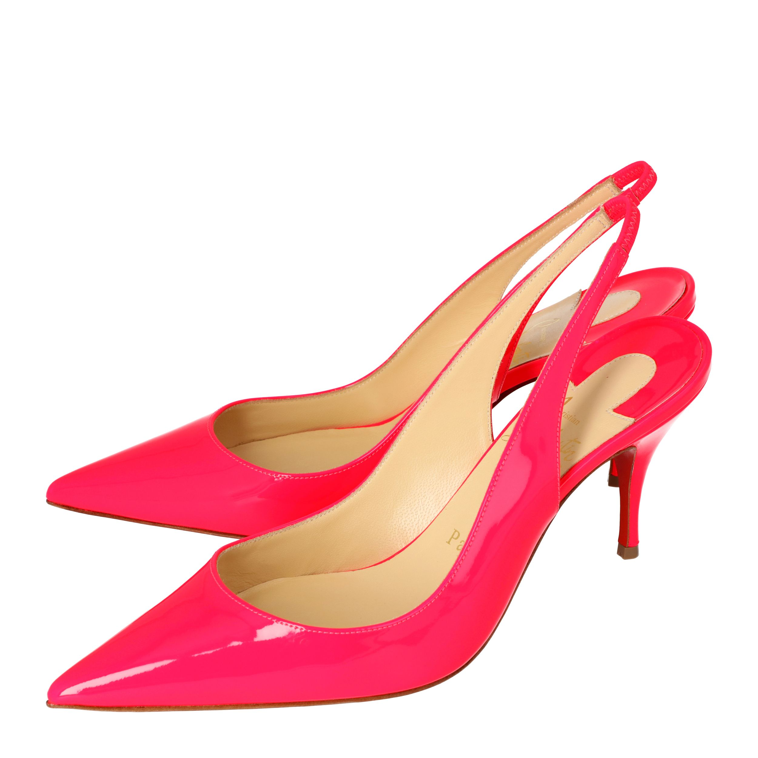 Christian Louboutin Pink Patent Leather