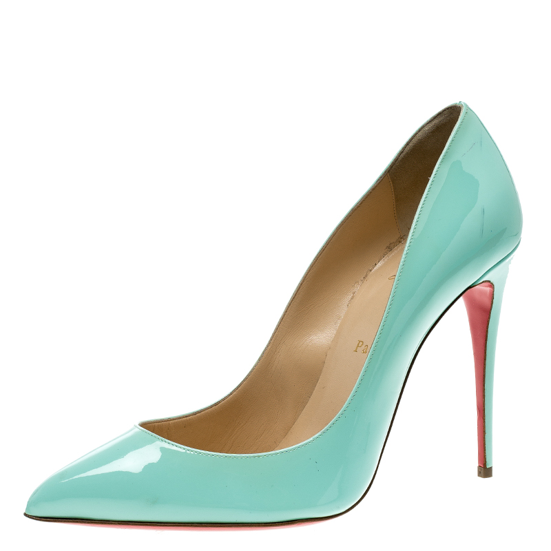 324d39c32c97 ... Green Patent Leather Pigalle Pointed Toe Pumps Size 41. nextprev.  prevnext
