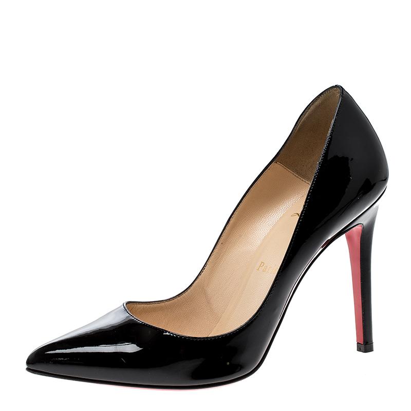 862a76268f47 ... Christian Louboutin Black Patent Leather Pigalle Pumps Size 37.  nextprev. prevnext