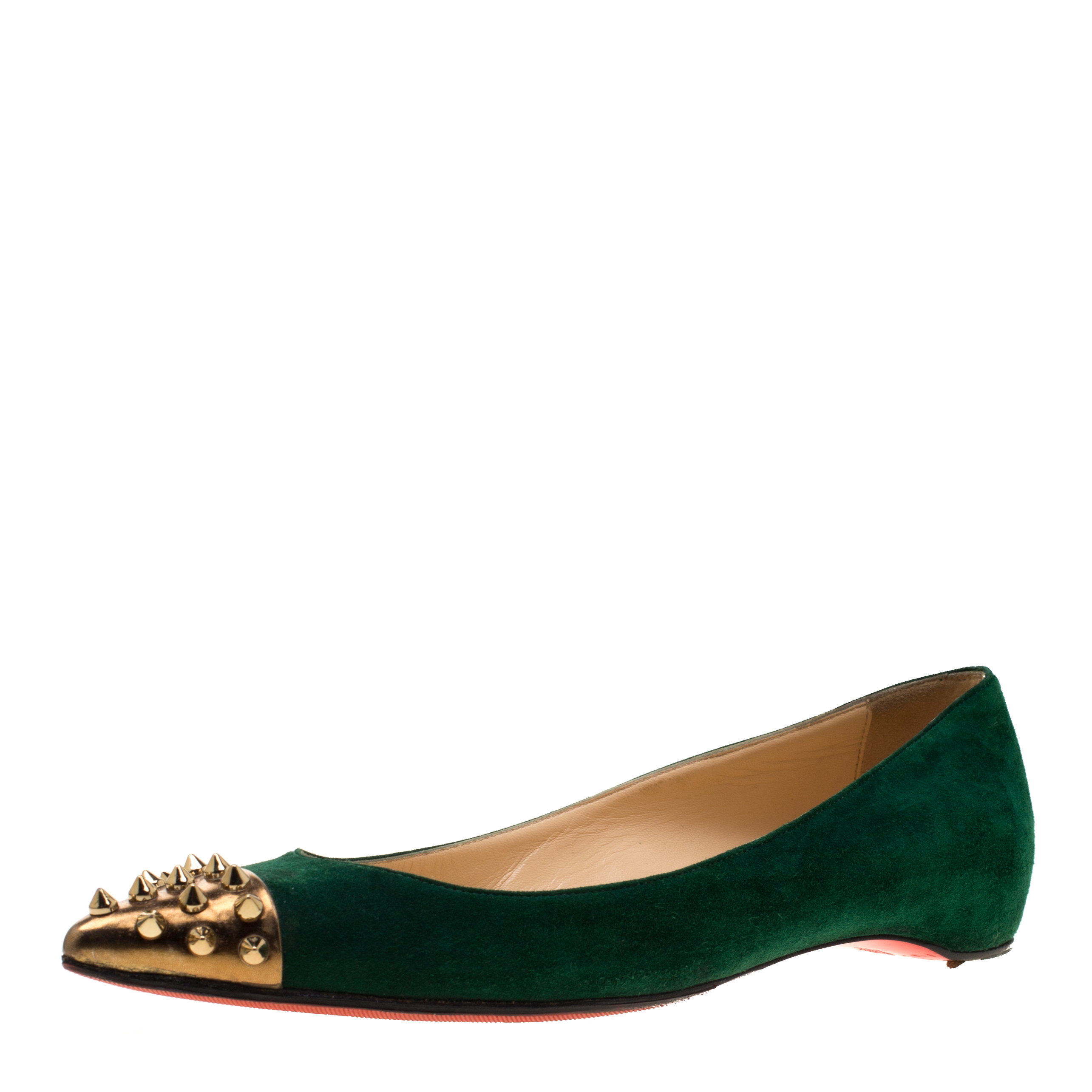 Christian Louboutin Geen Suede And