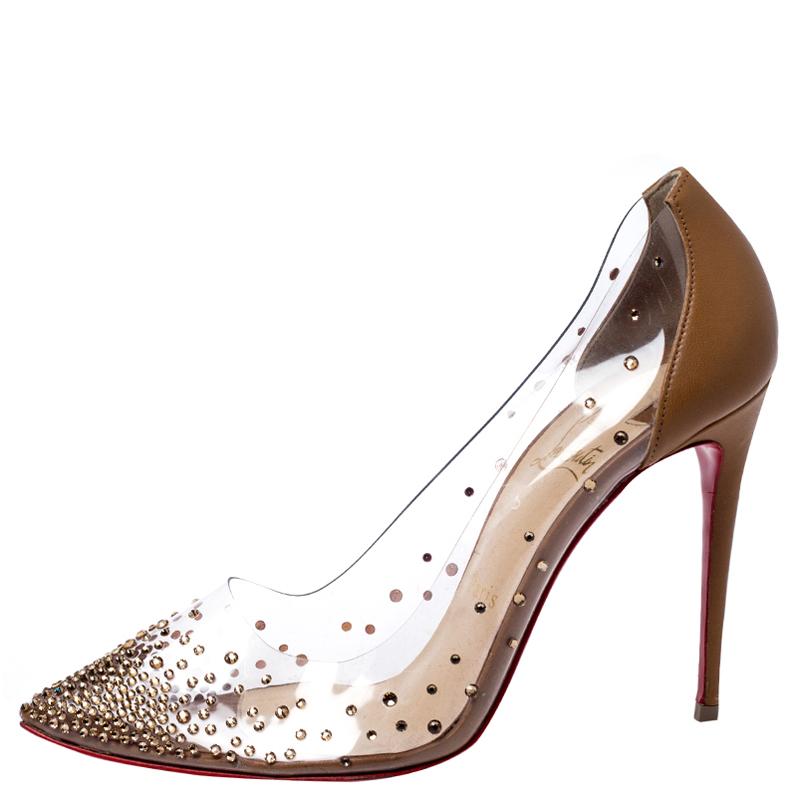 DEGRASTRASS 100 COURTISANE PVC - Women Shoes - Christian