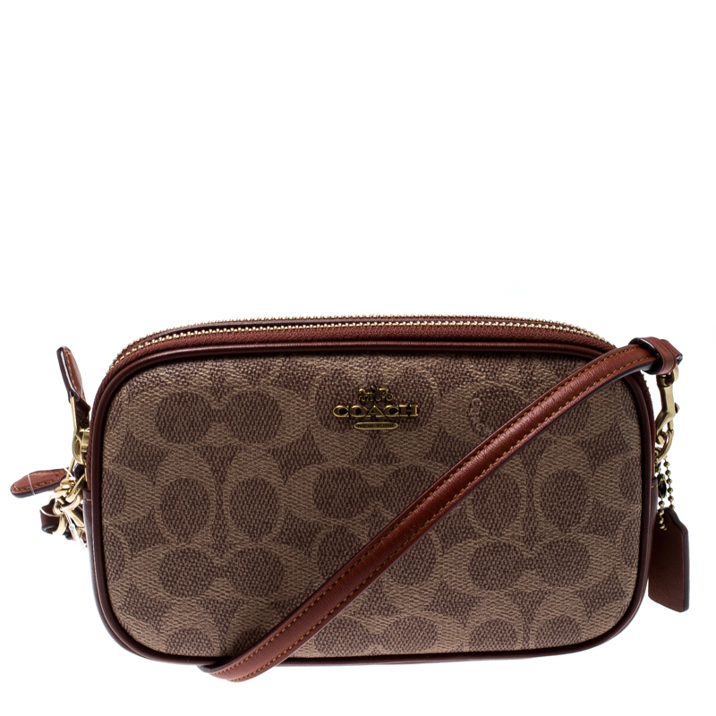 Leather Boxed Sa Crossbody