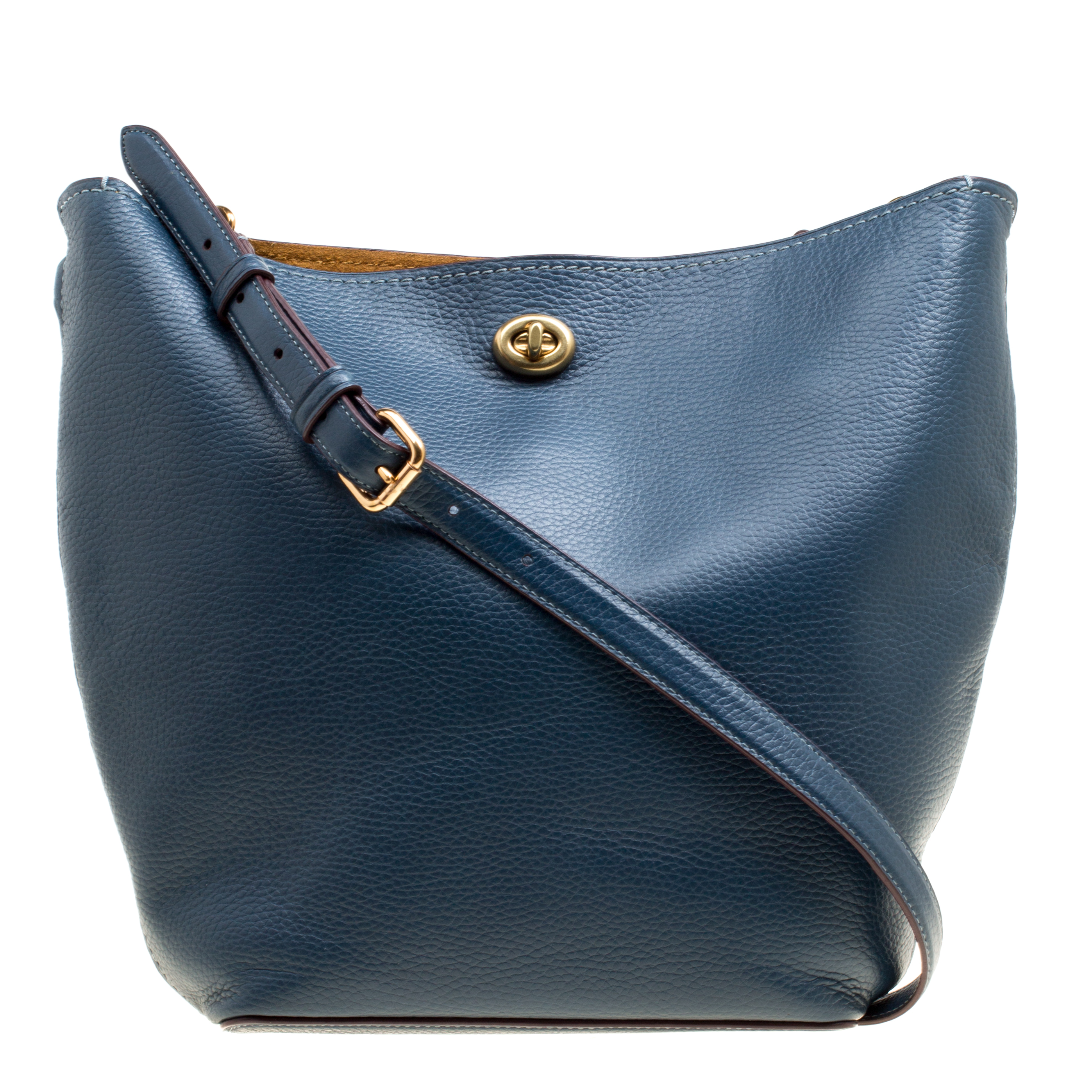 ... Coach Teal Blue Pebbled Leather Bucket Shoulder Bag. nextprev. prevnext 1ddd2bb3d0e4d