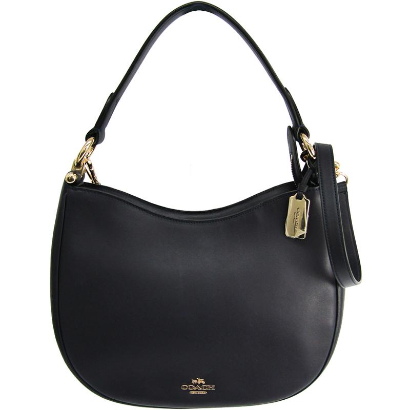 e3ad3c21 Coach Black Leather Mae Crossbody Bag