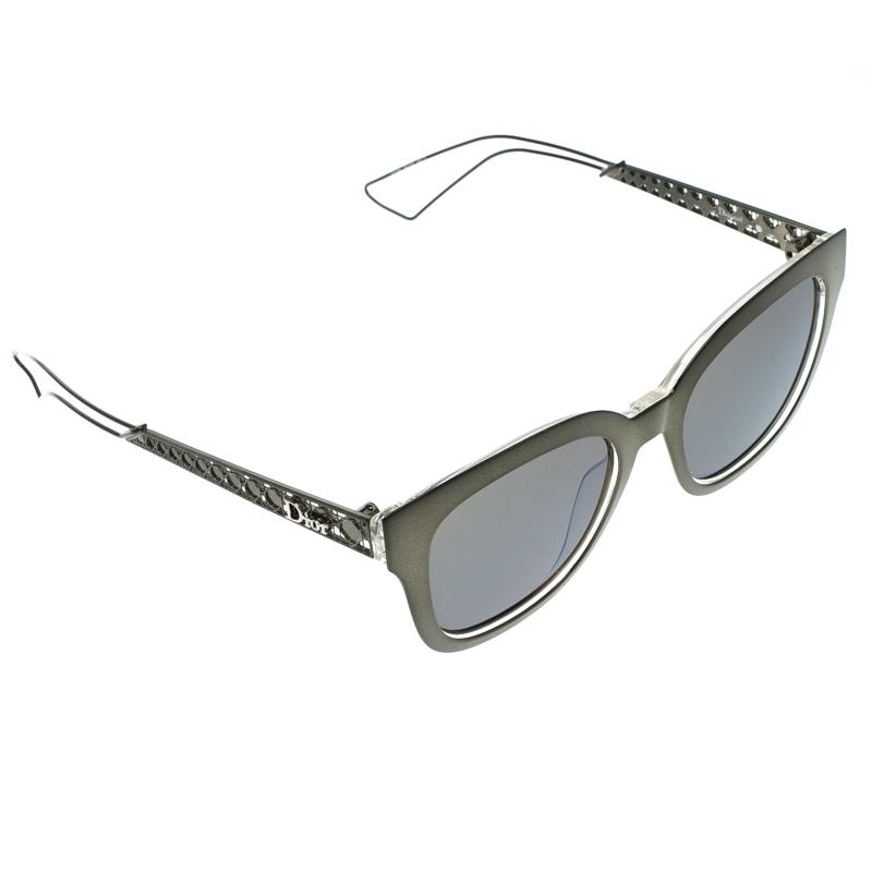 eb16b0364f9 ... Dior Brown Mirrored YOV3U Diorama 1 Wayfarer Sunglasses. nextprev.  prevnext