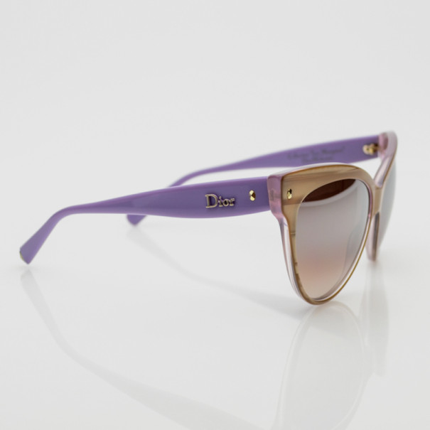 d7ea5c6a1344 Buy Christian Dior Beige and Pink Mohotani Retro Cat Eye Sunglasses 34066  at best price   TLC