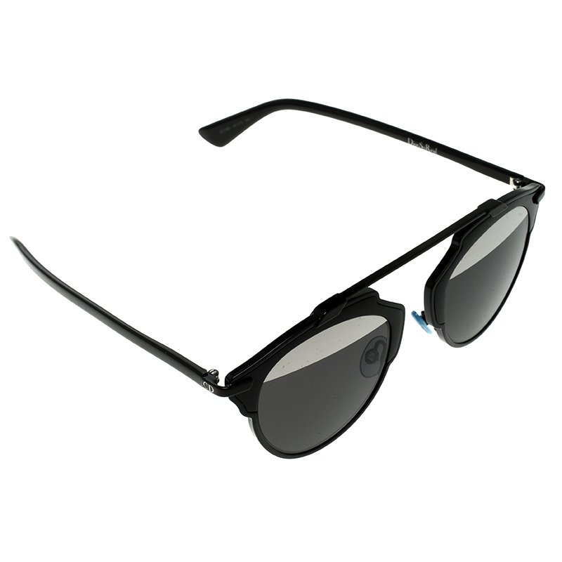 f299b1d1457f9 Buy Dior Black BOYMD So Real Round Sunglasses 132456 at best price