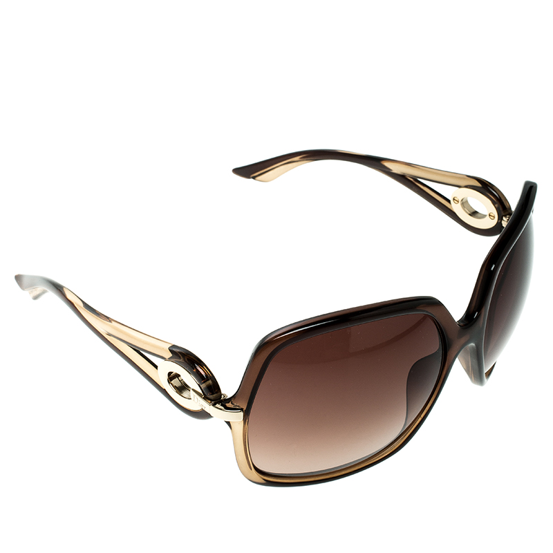 84d6f9d0d8a ... Christian Dior Brown Brown Gradient 5Y7J6 Dior Volute 1 Square  Oversized Sunglasses. nextprev. prevnext