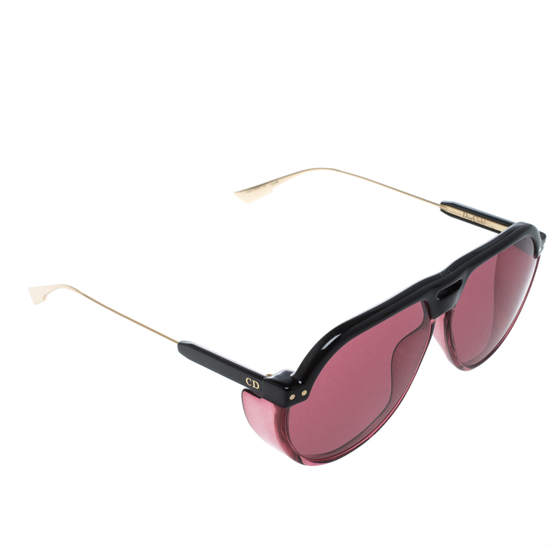 6adeab105bf98 Buy Dior Black  Pink Club 3 Aviator Sunglasses 148169 at best price ...