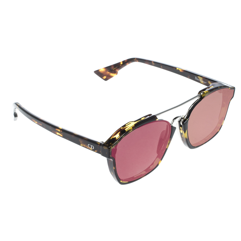 e89102c0486de Buy Dior Tortoise Pink TVZ9Z Dior Abstract Wayfarer Sunglasses ...