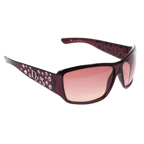 e830ad507058 Buy Dior Purple Sparkling 2 Strass Women's Sunglasses 15272 at best ...
