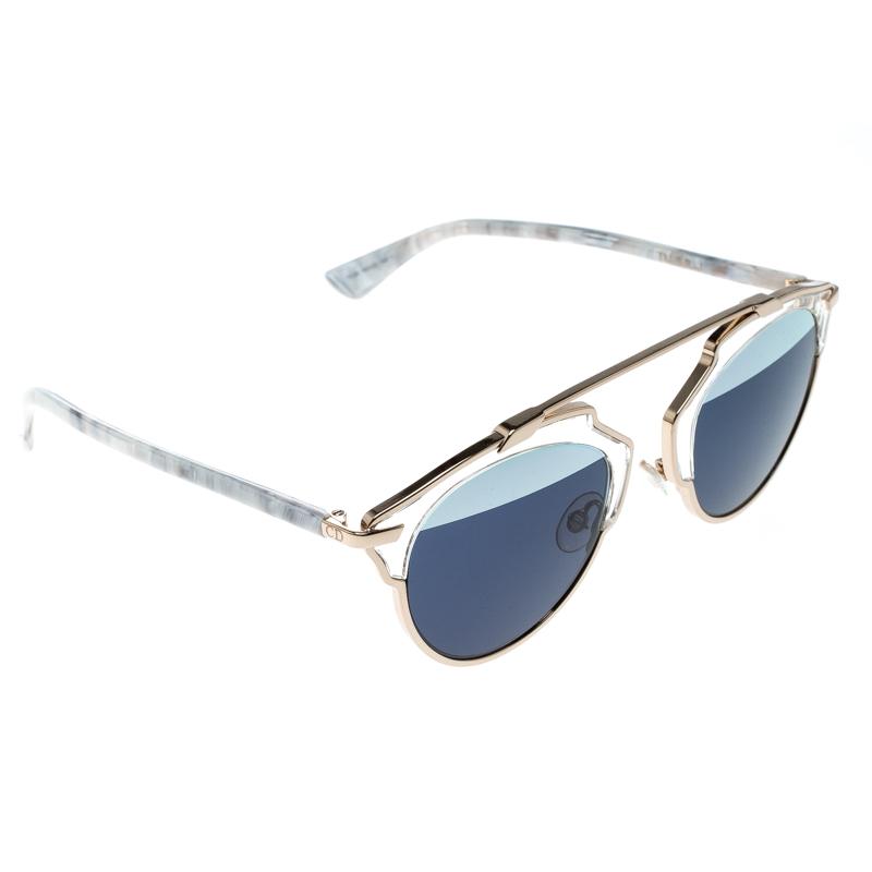 d3dfe0ccdbd ... Dior Gold Blue 1TL90 So Real Round Sunglasses. nextprev. prevnext