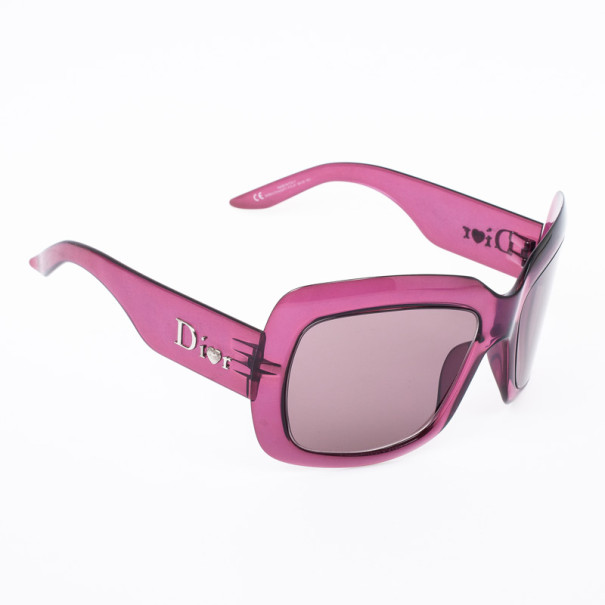 eb76c3004514 ... Christian Dior Purple Extralight1 Square Womens Sunglasses. nextprev.  prevnext