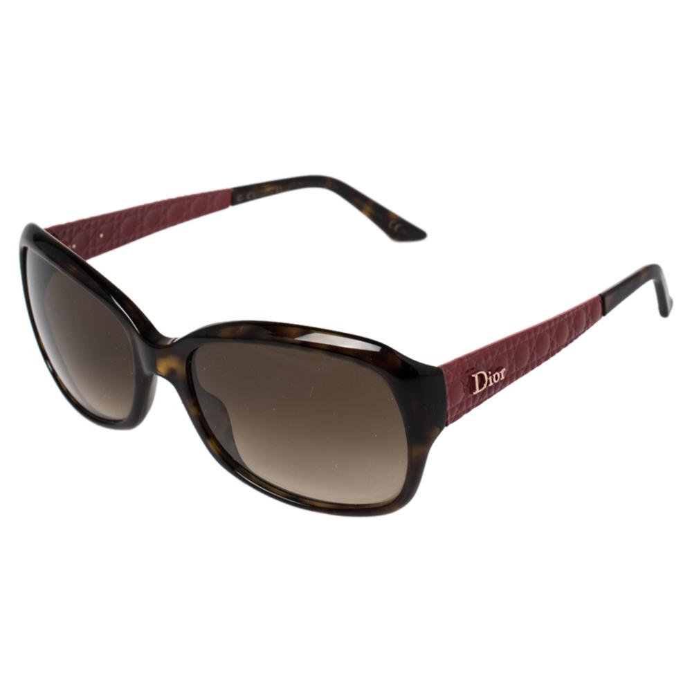 Dior Raspberry Cannage/ Brown Gradient O63CC DiorCoquette2 Sunglasses
