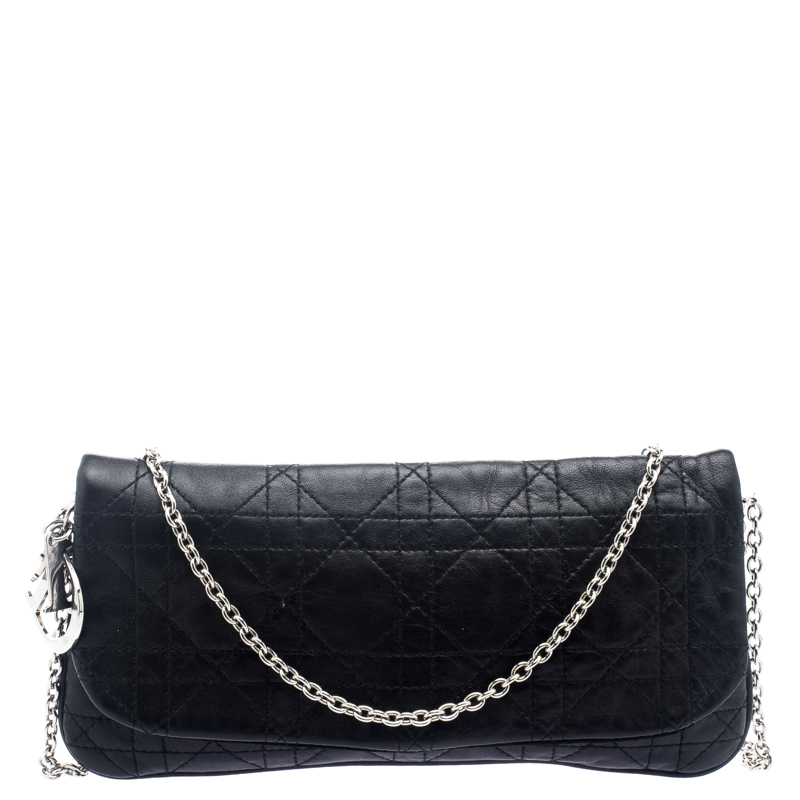 ca4a784237 Buy Dior Black Cannage Leather Crossbody Bag 101852 at best price | TLC