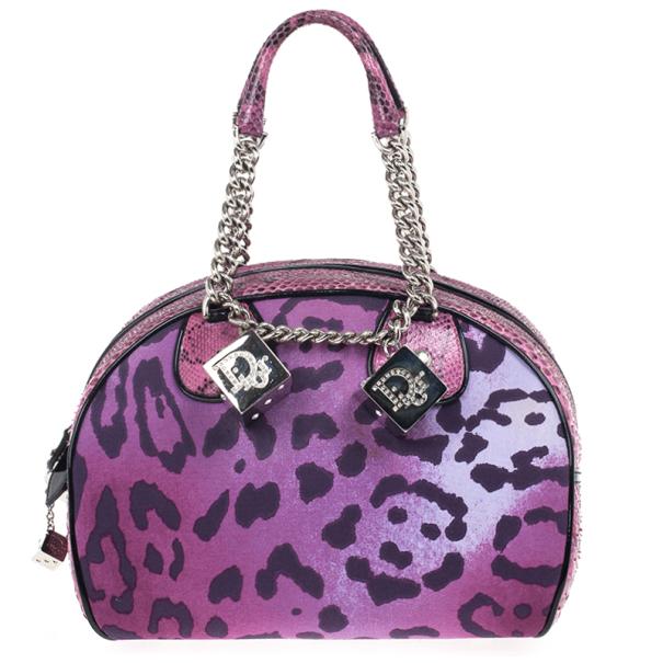 817349ab11f ... Christian Dior Purple Canvas and Python Gambler Handbag. nextprev.  prevnext