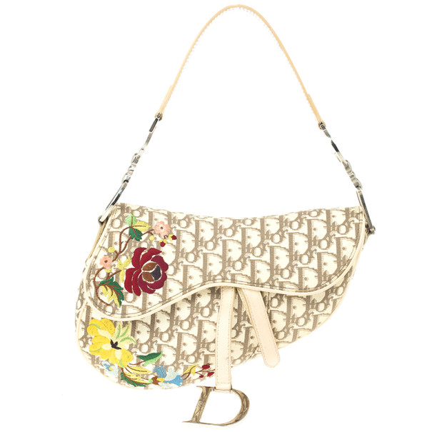 d2dfdcc1f6f9 ... Christian Dior Ivory Monogram Romantique Saddle Bag. nextprev. prevnext