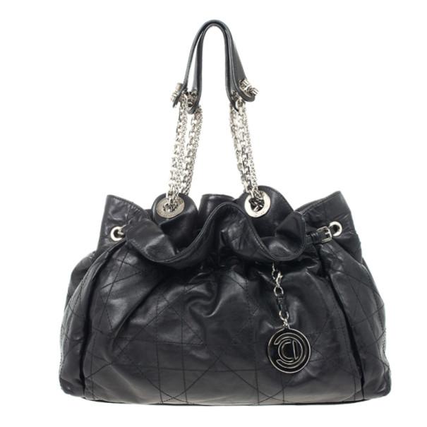 06121931e3 ... Christian Dior Black Cannage Leather Le Trente Bag. nextprev. prevnext