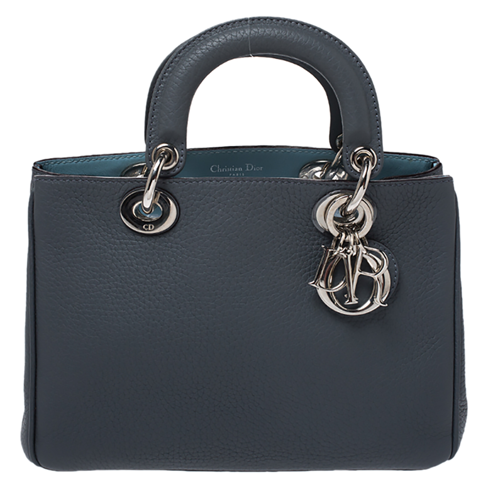 Dior Issimo Tote In Grey