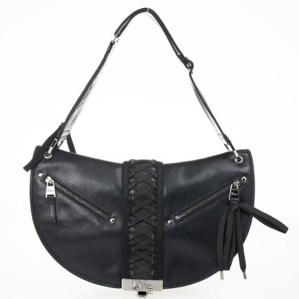 ... Christian Dior Black Leather  Admit It  Shoulder Handbag. nextprev.  prevnext 5610e69aa84c4