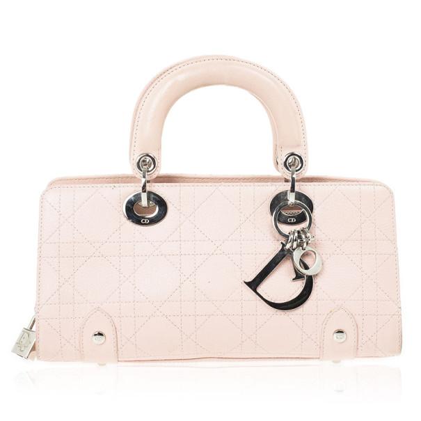 395f9bcdd02b Buy Christian Dior Beige Lady Dior East West Bag 29542 at best price ...