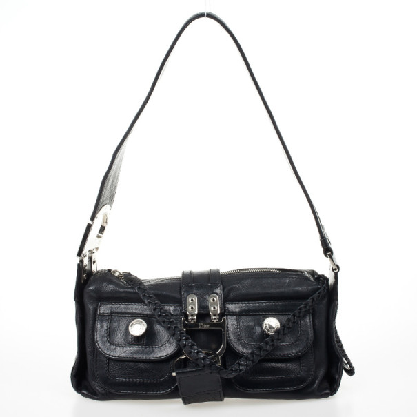 ... Christian Dior Black Leather Flight Large East West Bag. nextprev.  prevnext 064173b45f5f1