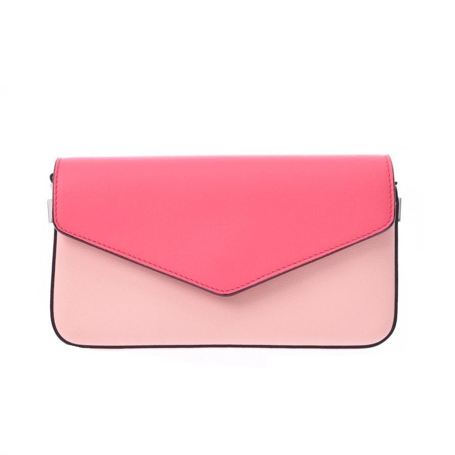 Pre-owned Dior Pink Leather Shoulder Bag