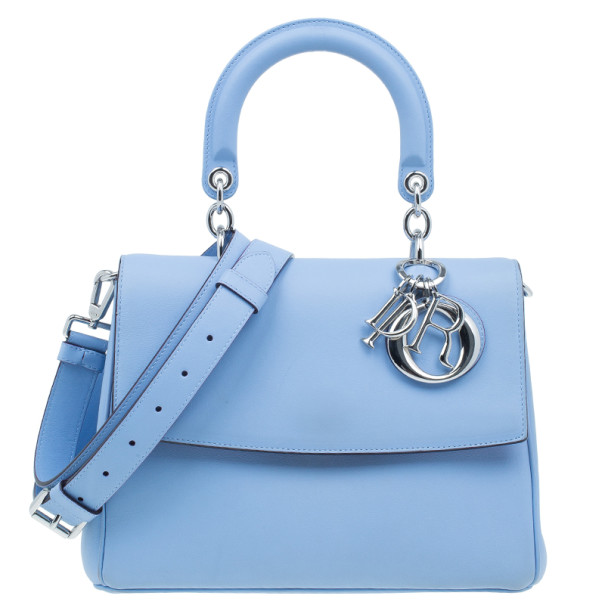 8750b22bcf83 Buy Dior Light Blue Calfskin Small Be Dior Handbag 3387 at best price