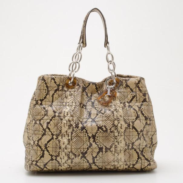 Buy Dior Soft Lady Dior Python Bag 35632 at best price  b32fcfa963c57