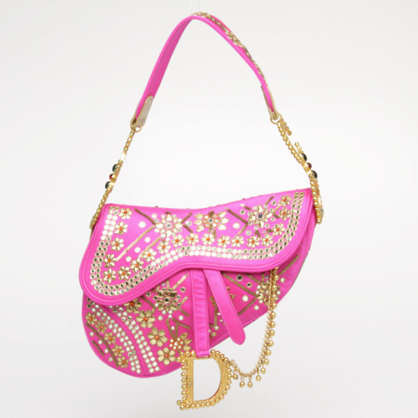 f470a3358fb6 Buy Dior Limited Edition India Saddle Bag 38052 at best price