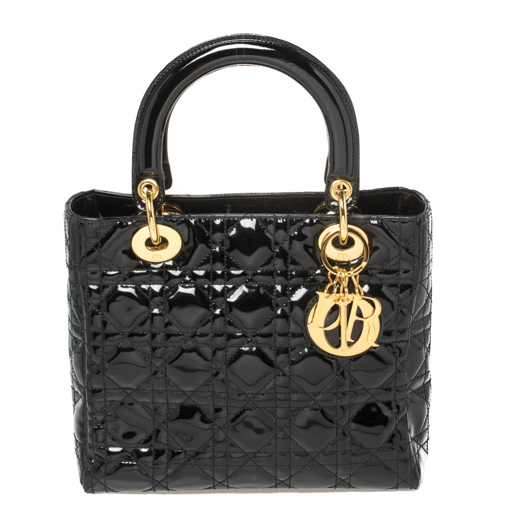 Pre-owned Dior Tote In Black