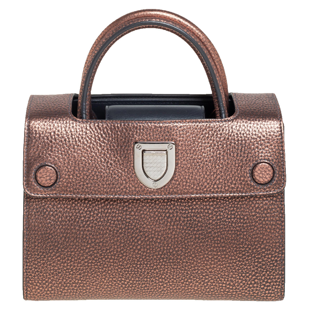Pre-owned Dior Ever Tote In Brown