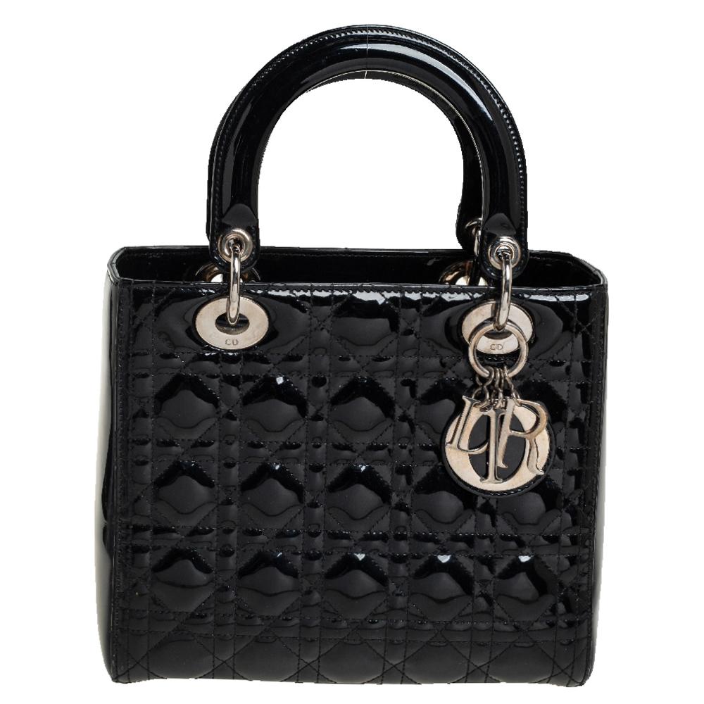 Pre-owned Dior Tote In Black