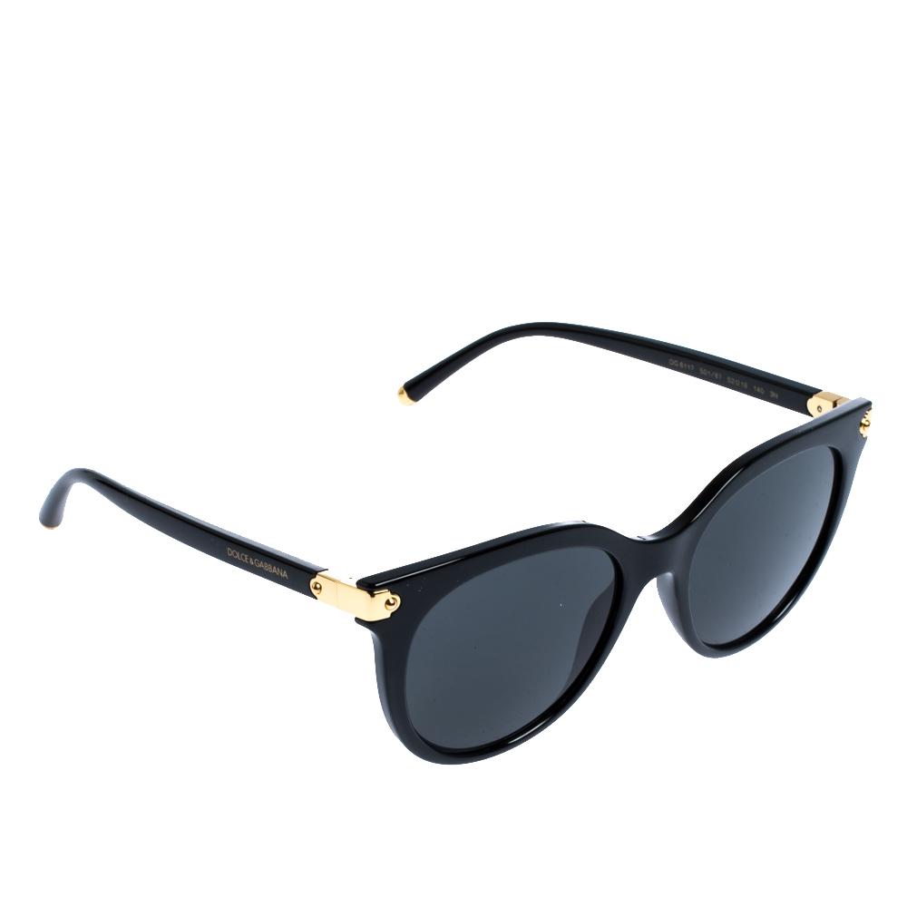 Dolce & Gabbana Grey/Black DG6117 Sunglasses