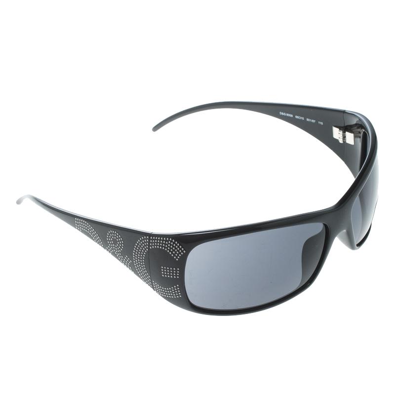 62e4f82a006f ... Dolce and Gabbana Black 8009 Studded Rectangle Sunglasses. nextprev.  prevnext