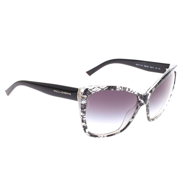 6e08c968028 ... Dolce and Gabbana Black Oval  Lace  Womens Sunglasses. nextprev.  prevnext