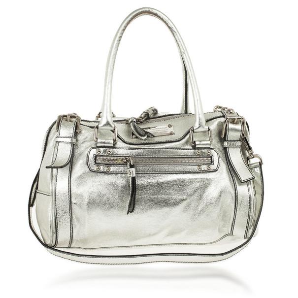 ed4f6d45da18 ... Dolce and Gabbana Miss Easy Way Metallic Boston Bag. nextprev. prevnext