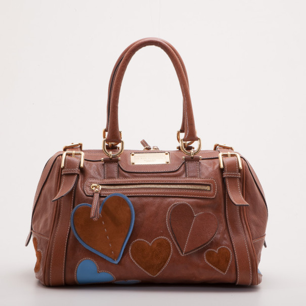 Dolce and Gabbana Leather Satchel Bag