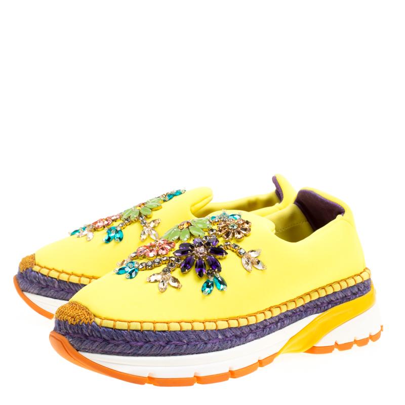 Dolce \u0026 Gabbana Yellow Neoprene