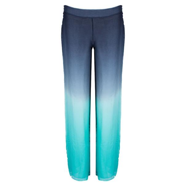 07203eedc1ee ... Emilio Pucci Degrade Silk Chiffon Wide Leg Trousers M. nextprev.  prevnext