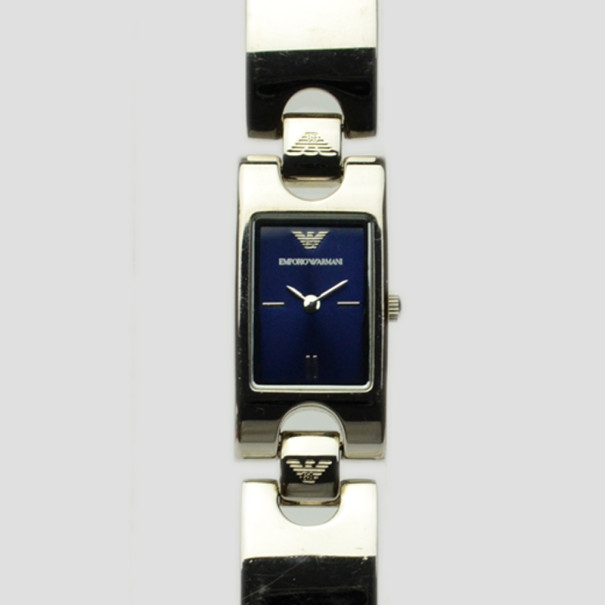 Emporio Armani Blue SS Womens Wristwatch 34 MM