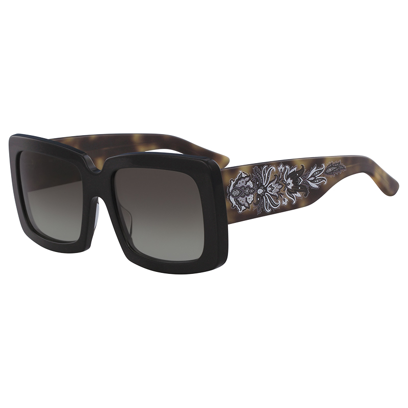 9fdbe4dcb4b7 Buy Etro Black/Havana ET664S Square Sunglasses 153254 at best price ...