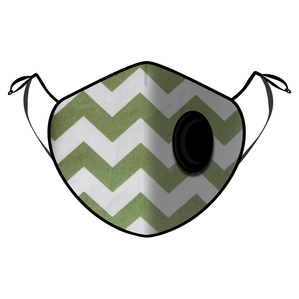 Fine Guard By Caroline Reusable N95 Face Mask, Ziggy Bay - Medium (Available for UAE Customers Only)