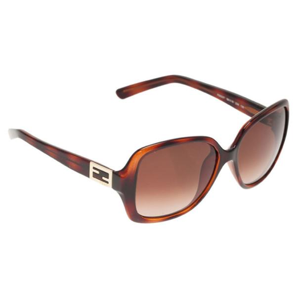 62fb710525e Buy Fendi Brown FS5227 Square Sunglasses 2110 at best price