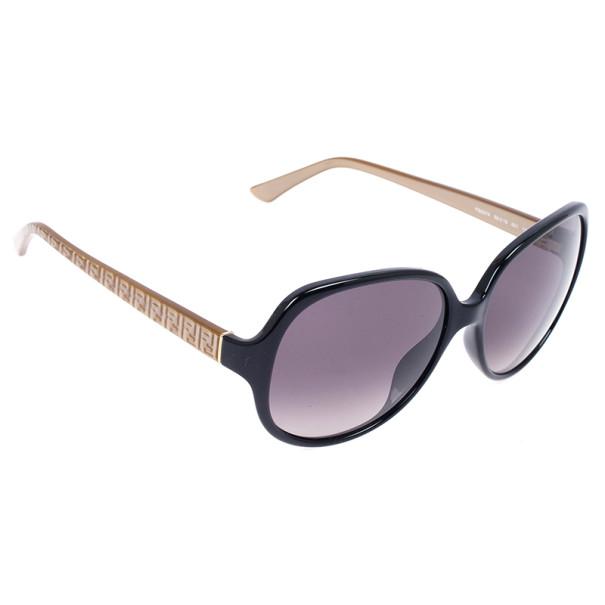 Fendi Brown Oversized Square 5274 Sunglasses