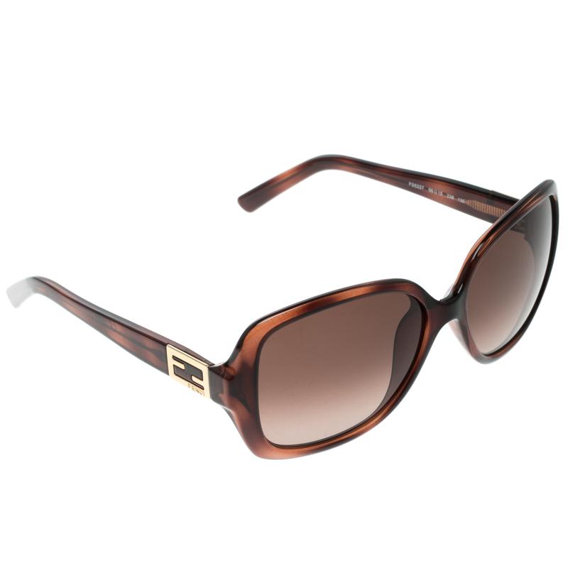 32f5872810 ... Fendi Brown Tortoise FS5227 Square Sunglasses. nextprev. prevnext