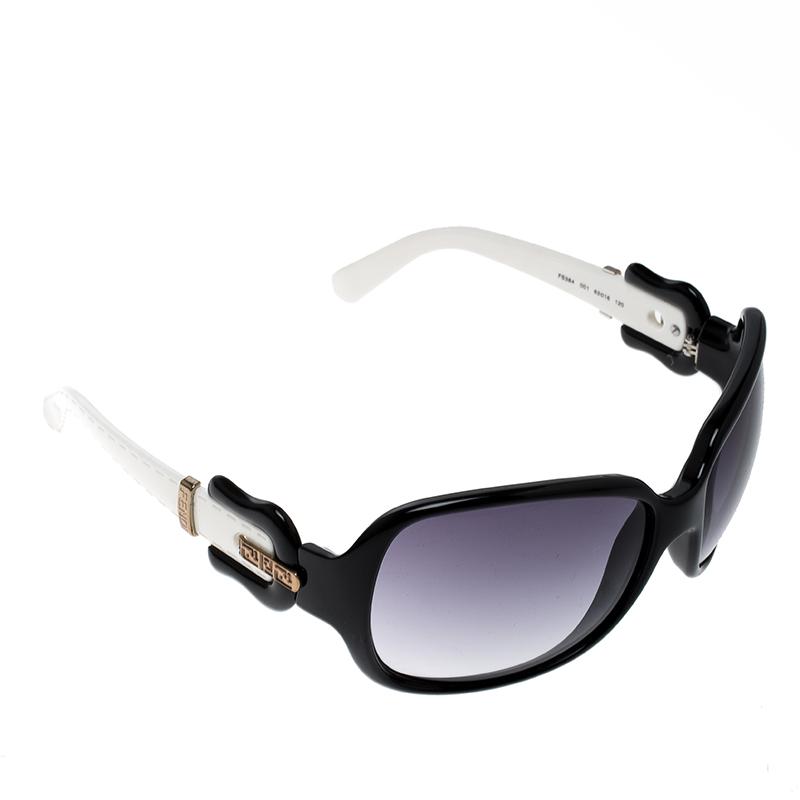 dde09394d6ef ... Fendi Black/Purple Gradient FS384 Iconic Buckle Oversized Square  Sunglasses. nextprev. prevnext